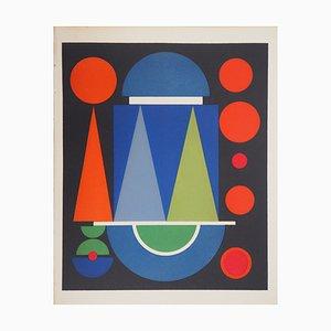 Serigrafia Red Composition Limited Edition di Auguste Herbin, 1949