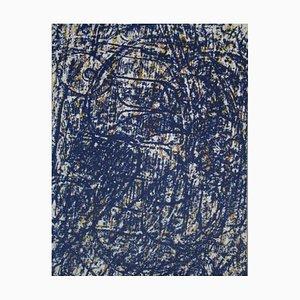 Litografia La Foret Bleue di Max Ernst, 1962