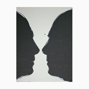 Litografia Cup due di Jasper Johns, 1973