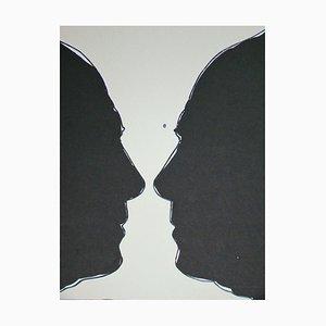 Litografía Cup two Picasso de Jasper Johns, 1973