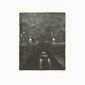 Pont des Rigoles Lithograph by Brecht Evens, 2018