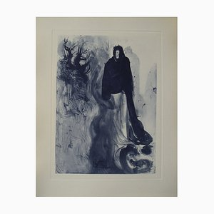Apparition of Dité Etching by Salvador Dali