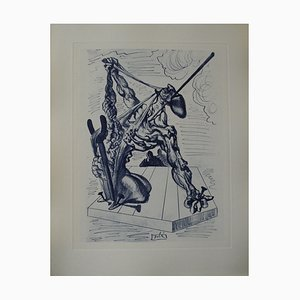 Incisione The Falsifiers di Salvador Dali