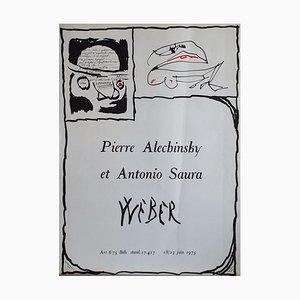 Weber Poster by Pierre Alechinsky, 1927