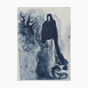Hell 34 Radierung von Salvador Dali für The Divine Comedy