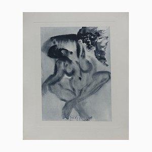 Purgatory 3 Radierung von Salvador Dali für The Divine Comedy