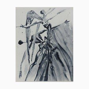 Purgatory 4 Radierung von Salvador Dali für The Divine Comedy