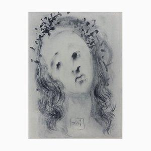 Incisione Purgatory 10 di Salvador Dali for The Divine Comedy