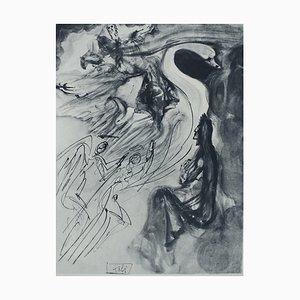 Incisione Paradise 19 di Salvador Dali