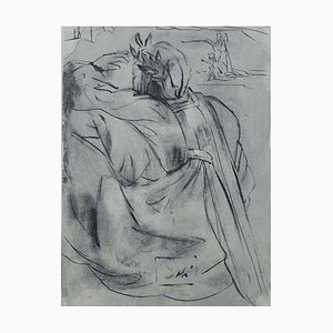 Purgatory 30 par Salvador Dali pour The Divine Comedy