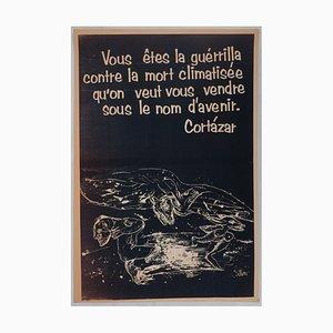 La Guérilla Poster by Julio Silva, 1968