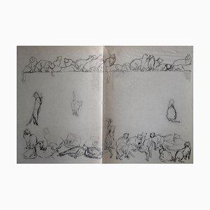 Théophile Alexandre Steinlen - Chats Et Autres Bêtes 12 - Lithograph