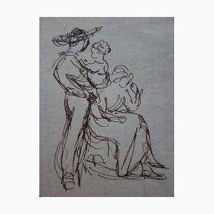 Cupidon et Amour Zeichnung von Demetrios Galanis