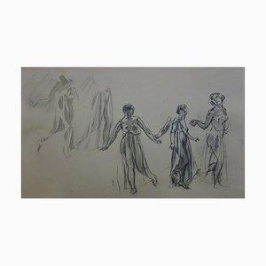 Litografia Les Trois Graces di Maurice Denis