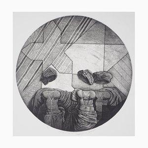 Odalisque n ° 34 Engraving de Awad El Shimy