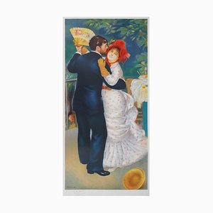 The Dancing Couple at the Ball Lithograph Reprint by Pierre-Auguste Renoir