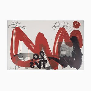 Le Cri : 20 TVs Lithograph by Wolf Vostell, 1990