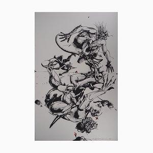 Breaks Lithograph by Vladimir Velickovic