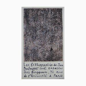 Berggruen Lithograph by Jean Dubuffet, 1960