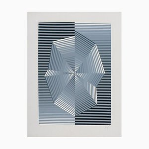 Se Lithograph by Eusebio Sempere, 1974