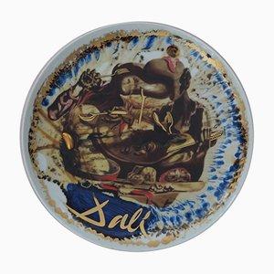 Assiette Gala Porcelain Plate par Salvador Dali, 1975