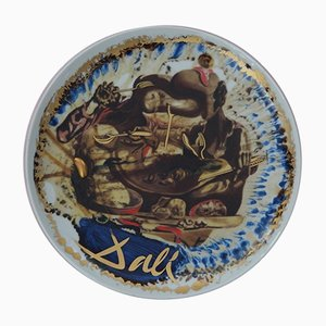 Gala's plate Porcelain Plate by Salvador Dali, 1975