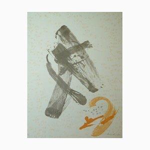 Litografia Composition 2 di Benet Rossell