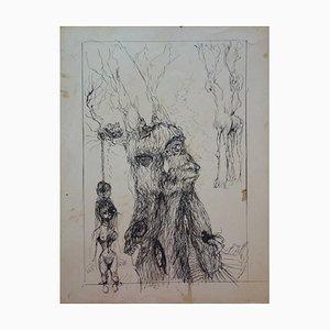 Disegno Créatures Fantastiques di Edouard Goerg