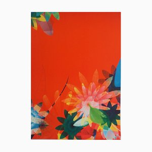 Flowers Artwork by Miguel Chevalier