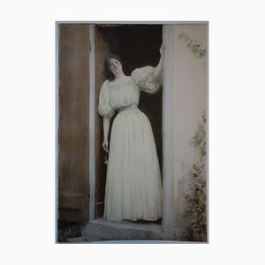 Le Départ Lithographie von Raphael Collin, 1897