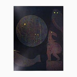 Les Animaux de la Nuit Lithographie von Max Ernst