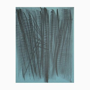 L 127 Lithograph by Hans Hartung, 1964