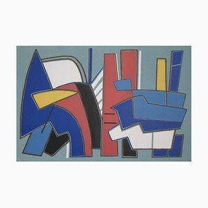 Alberto MAGNELLI - Composition for XXe Siècle, 1967, Lithograph in colours
