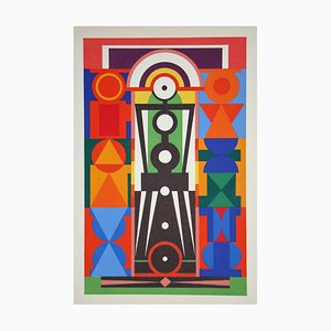 Christ Serigraph by Auguste Herbin, 1949
