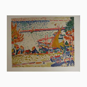 Collioure Harbour Artwork by André Derain