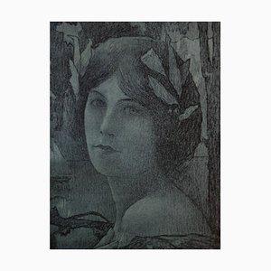 Nuit Douce Lithograph by Henri Guinier, 1897