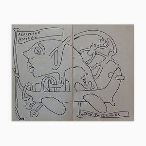 Capitipède en Avion Drawing by Yvon Taillandier