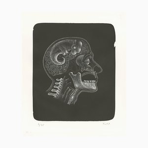 "Thomas OTT - ""Idee (Idée)', lithograph, 2018"