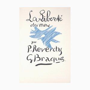 La Liberté des Mers Lithograph by Georges Braque