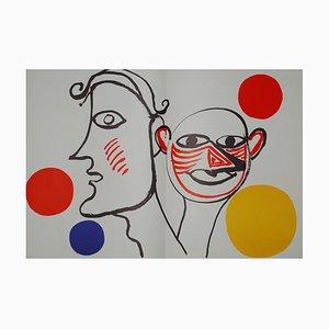Litografia Derrière le Miroir Calder (5) di Alexandre Calder