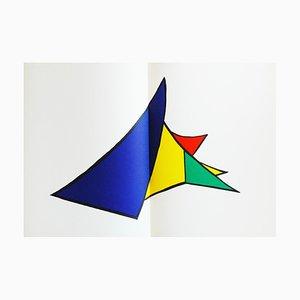 Litografia Derrière le Miroir Calder (12) di Alexandre Calder