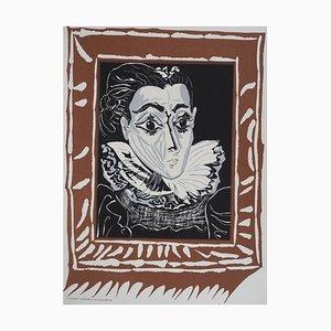 Litografia Lady with The Ruff di Pablo Picasso