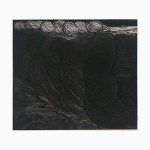 Chorégraphie II Radierung von Hélène Csech