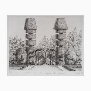 Entrée Sud du Jardin des Délices Stich von François Houtin