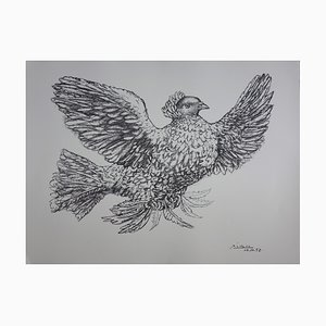The Dove Bearing The Olive Branch of Peace Lithograph Reprint by Pablo Picasso