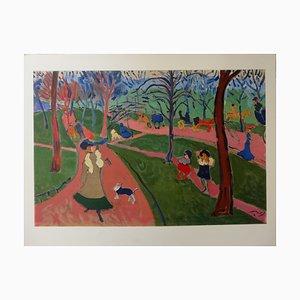 Grabado London Hyde Park de André Derain, 1906