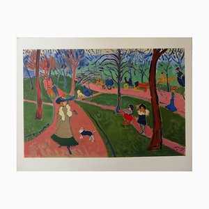 Incisione London Hyde Park di André Derain, 1906