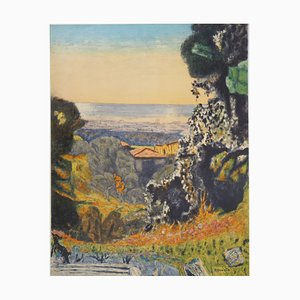 Pierre BONNARD - Provence, signed lithograph, 1956