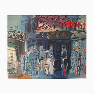 Réception d'un Amiral Anglais Lithograph by Raoul Dufy