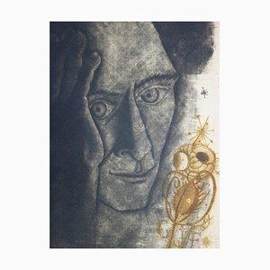 Hommage à Friedlander Engraving by Brigitte Coudrain